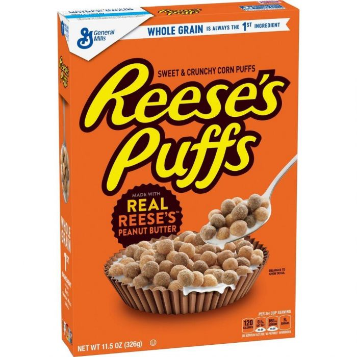 Reese's Puffs Cereal (326g)-0