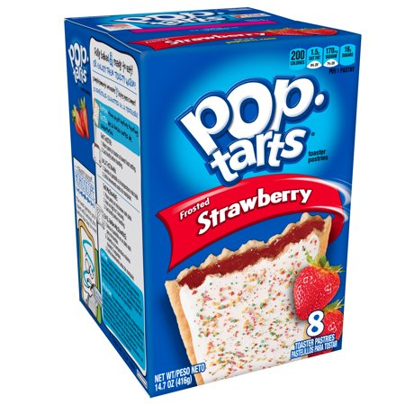 Kellogg's Pop Tarts Frosted Strawberry (400g)-0