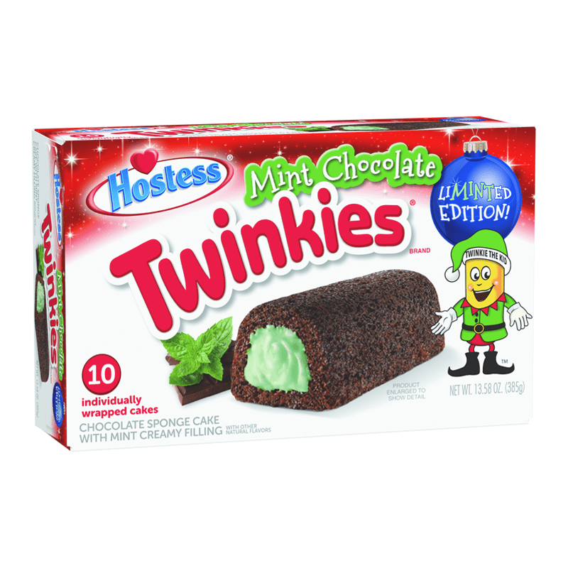 Hostess Mint Chocolate Twinkies (385g)-0