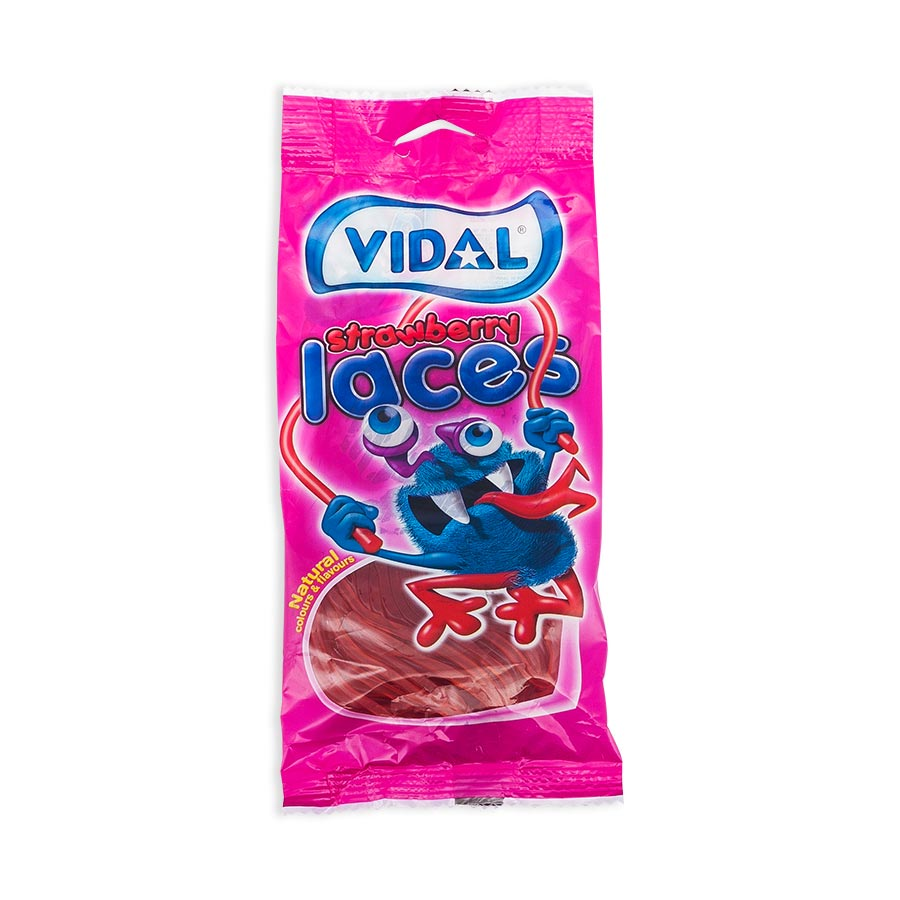Vidal Strawberry Laces (100g)-0