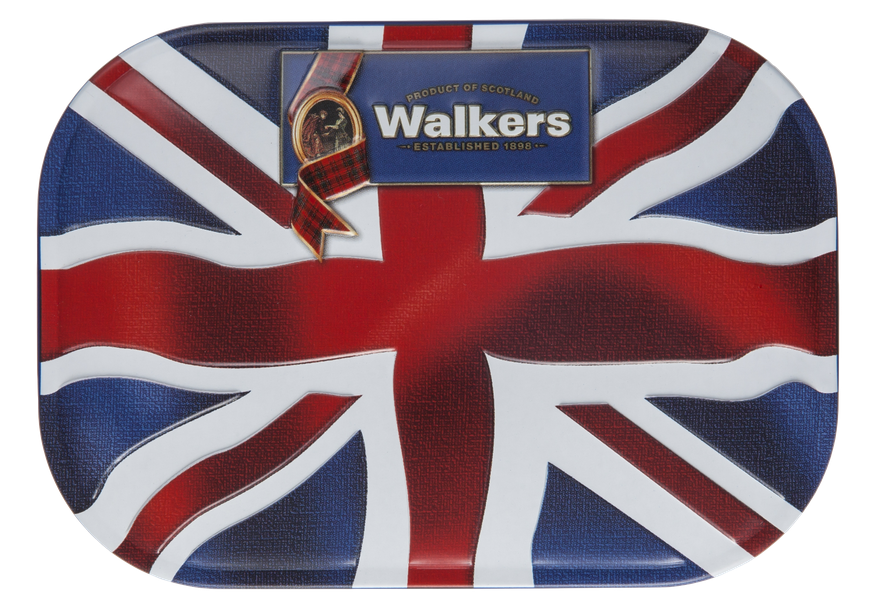 Walkers Union Jack Keepsake Tin (120g)-0
