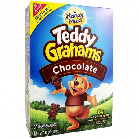 Teddy Grahams Chocolate (283g)-0