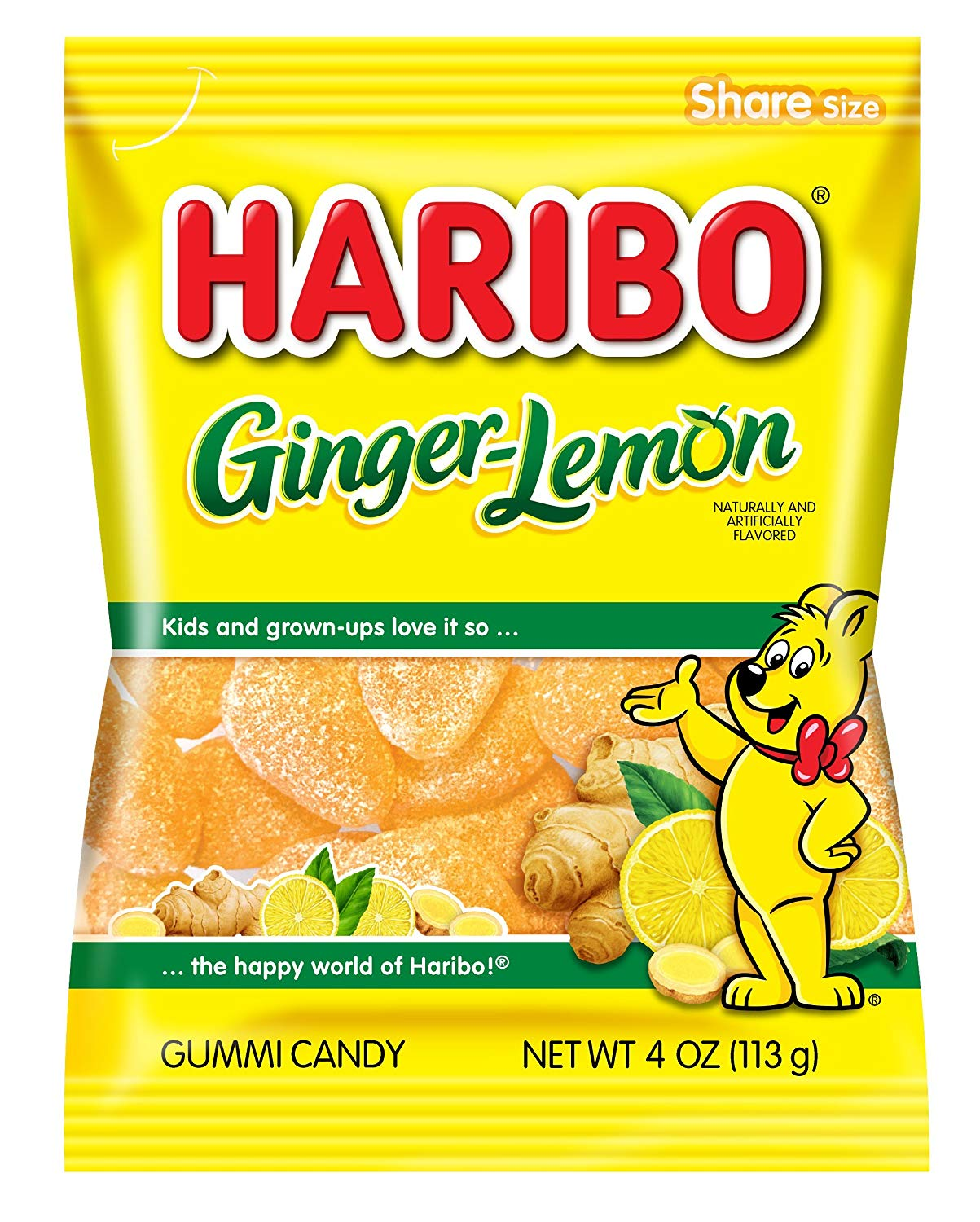 Haribo Ginger-Lemon (113g)-0