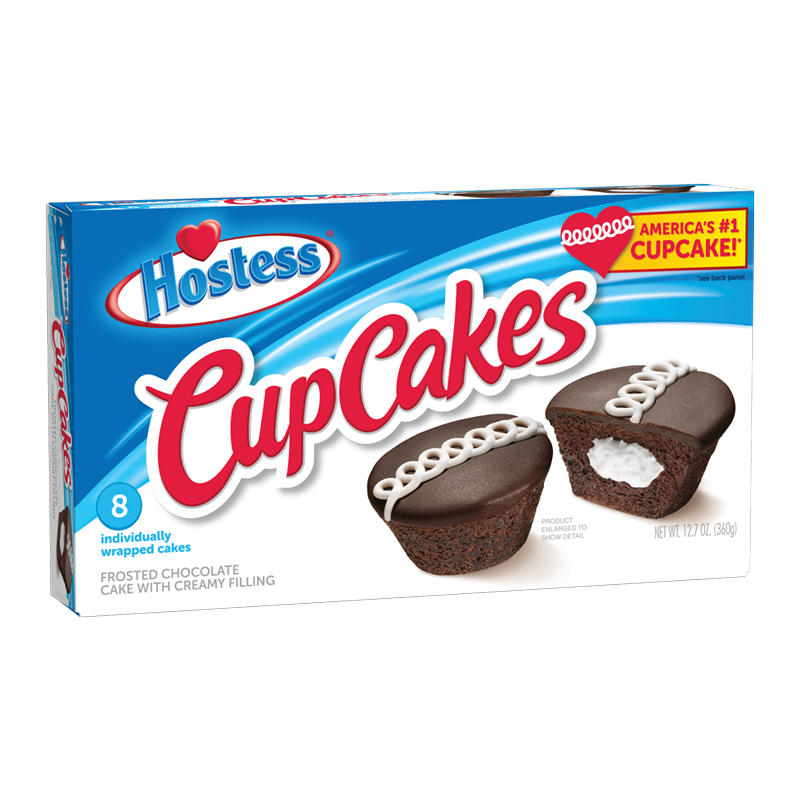 Hostess Chocolate Cup Cakes (360g)-0