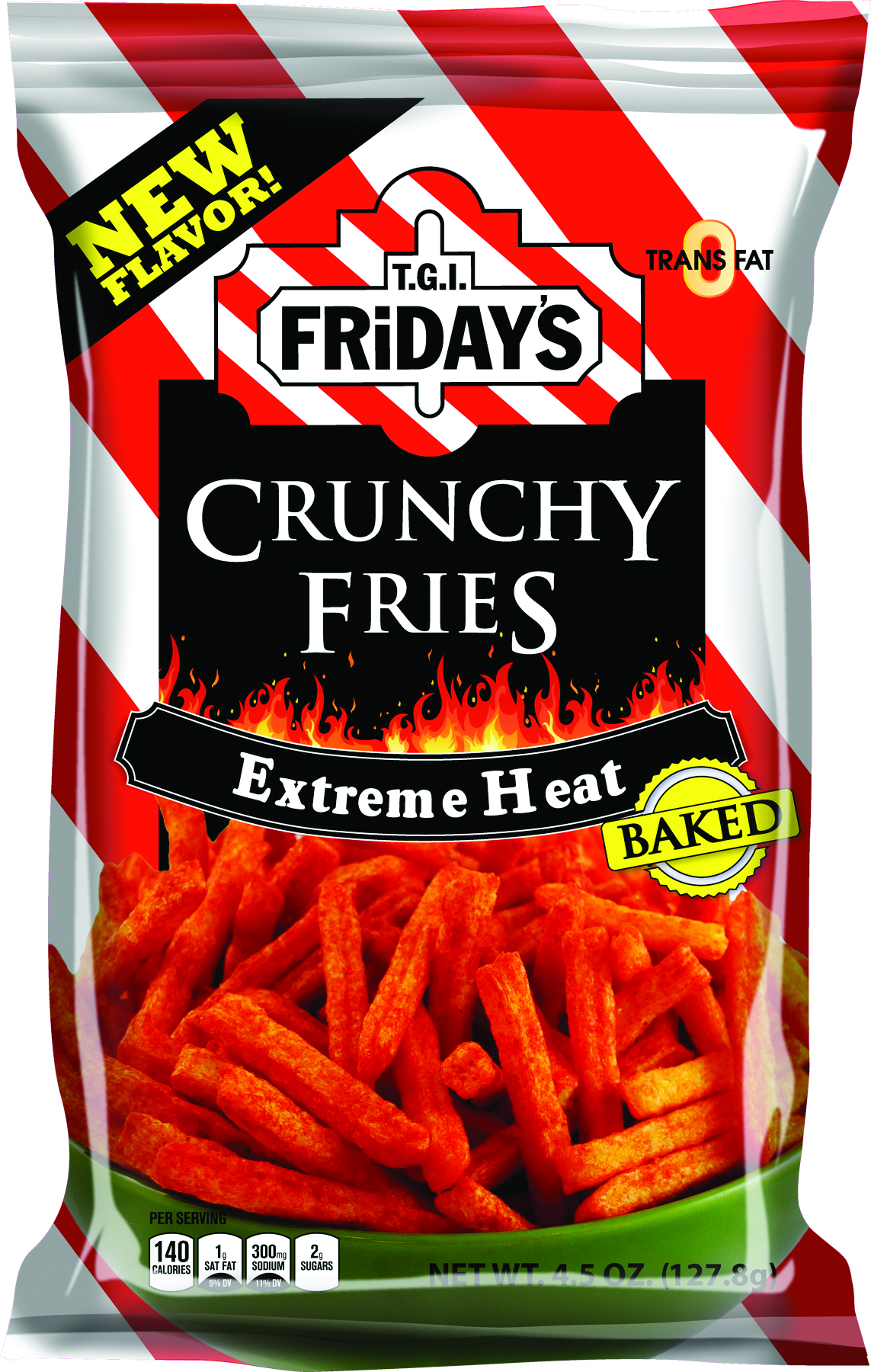 T.G.I. Friday's Crunchy Fries Extreme Heat (127.8g)-0