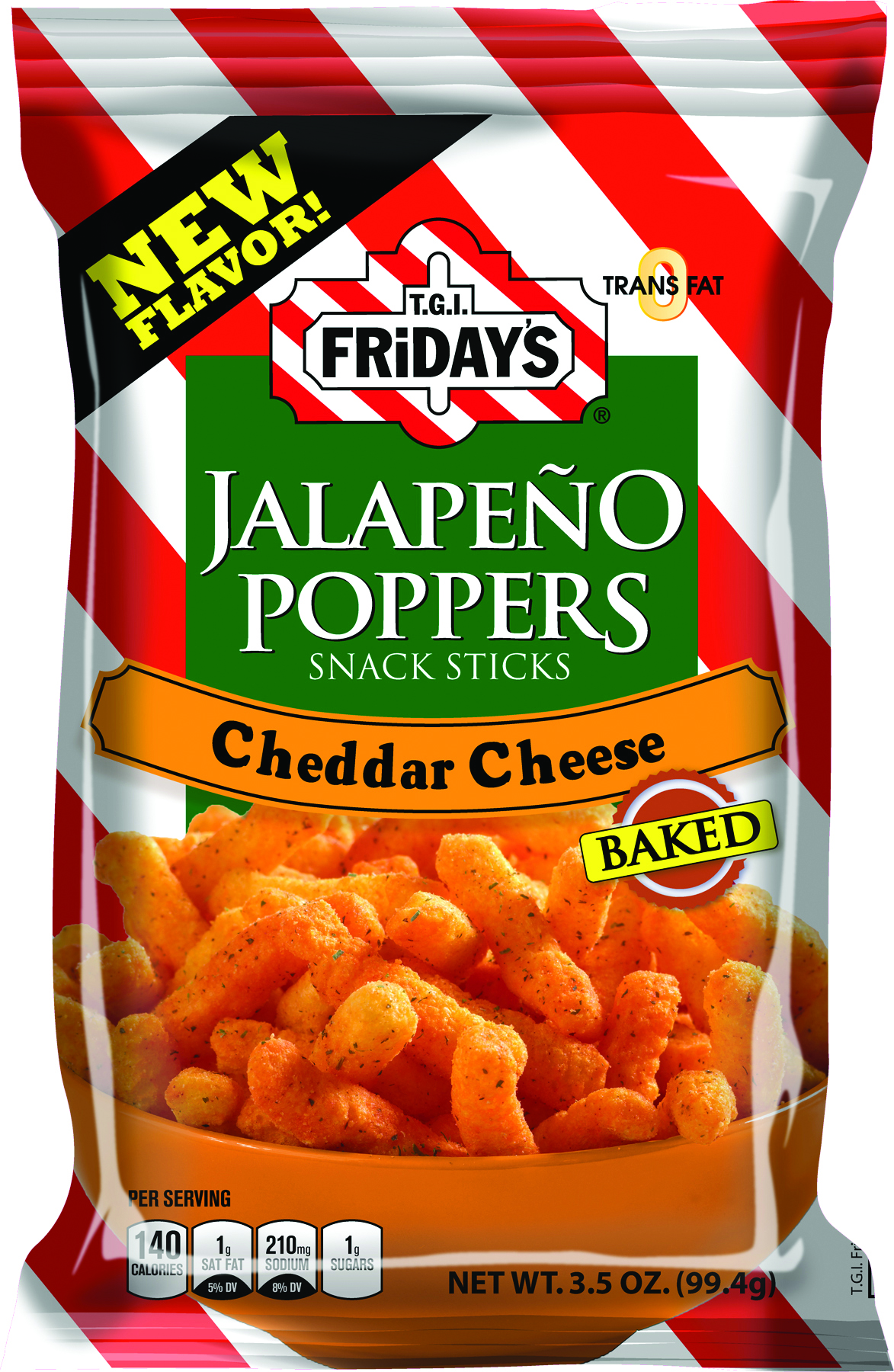 T.G.I. Friday's Jalapeno Poppers Cheddar Cheese (99g)-0
