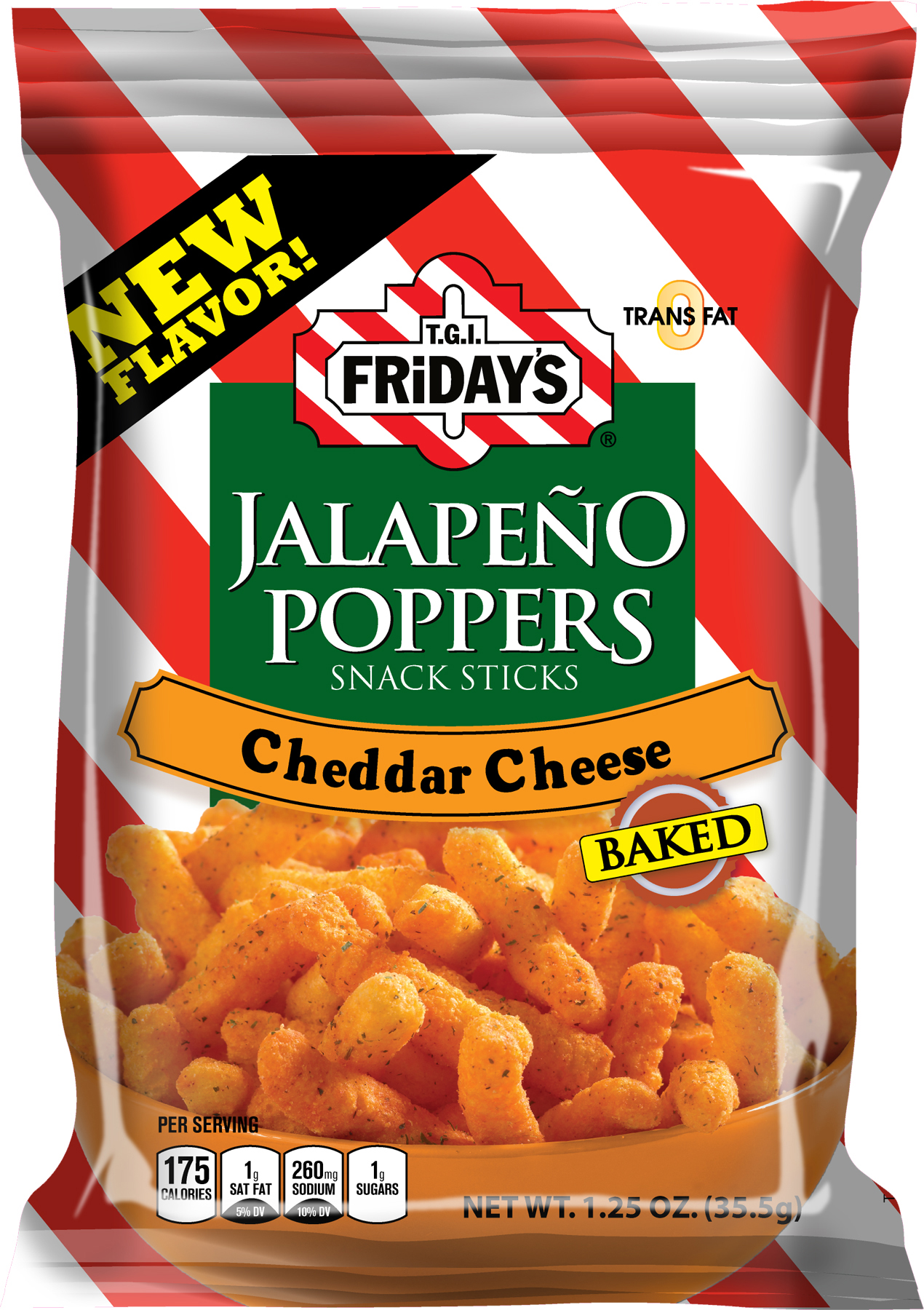 T.G.I. Friday's Jalapeno Poppers Cheddar Cheese (35.5g)-0