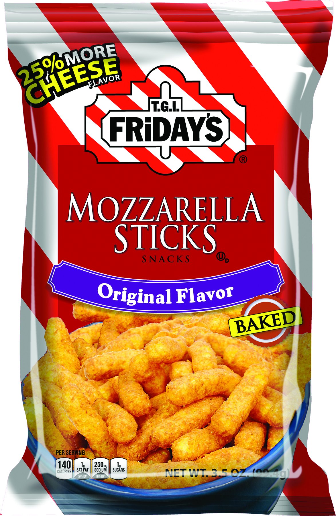 T.G.I. Friday's Mozzarella Sticks (99g)-0