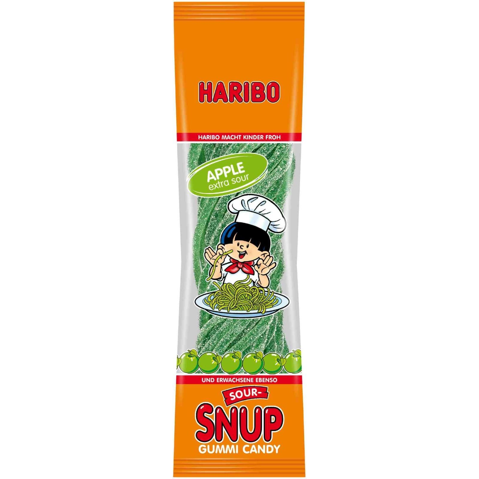 Haribo Sour-Snup Apple (200g)-0
