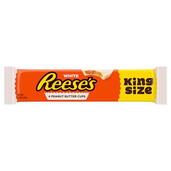 White Reese's Peanut Butter Cup King Size (79g)-0