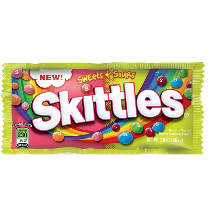 Skittles Sweets + Sours (56.7g)-0