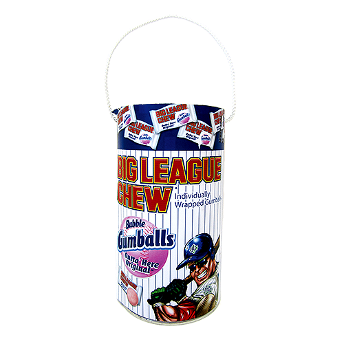 Big League Chew Original Flavor Bubble Gumballs Mega Paint-can (205g)-0