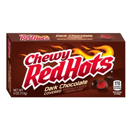 Dark Chocolate Chewy Red Hots (113g)-0