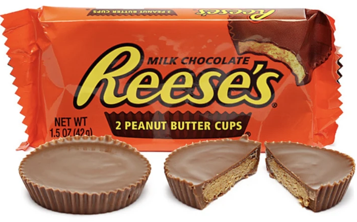 Reese's 2 Peanut Butter Cups (42g)-9612