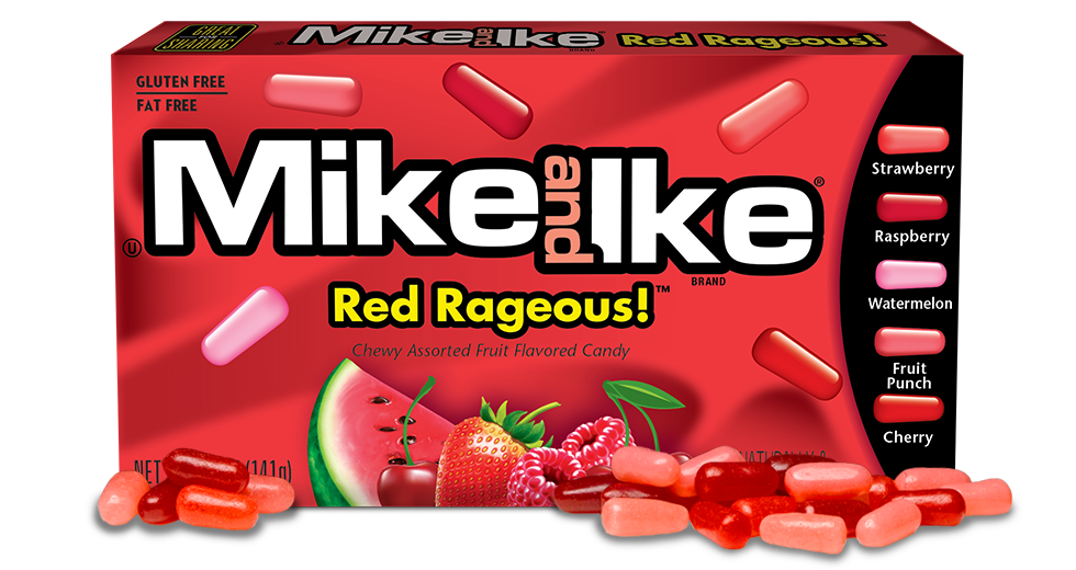 Mike and Ike Red Rageous (141g)-9037