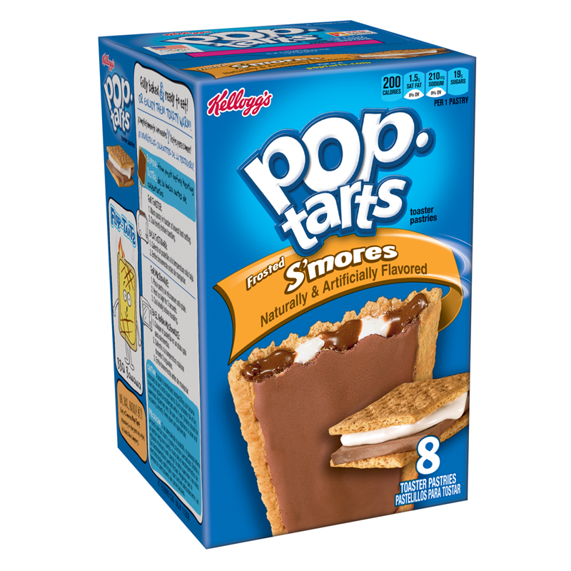 Kellogg's Pop Tarts Frosted S'mores (416g)-0