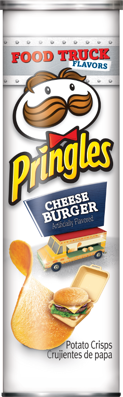 Pringles Food Truck Flavours - Cheeseburger (169g)-0