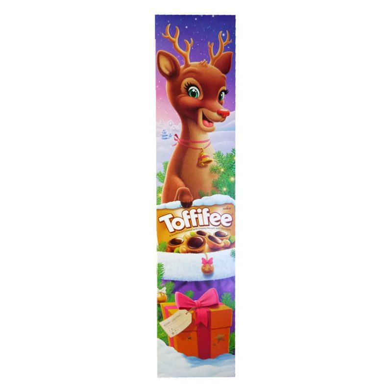Rudolph The Red Nose Reindeer Toffifee Plank (375g)-0