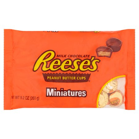 Reese's Miniatures Milk Chocolate Peanut Butter Cups (260g)-0