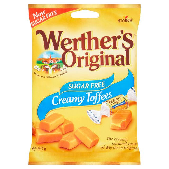 Werther's Original Creamy Toffees Sugar Free (80g)-0