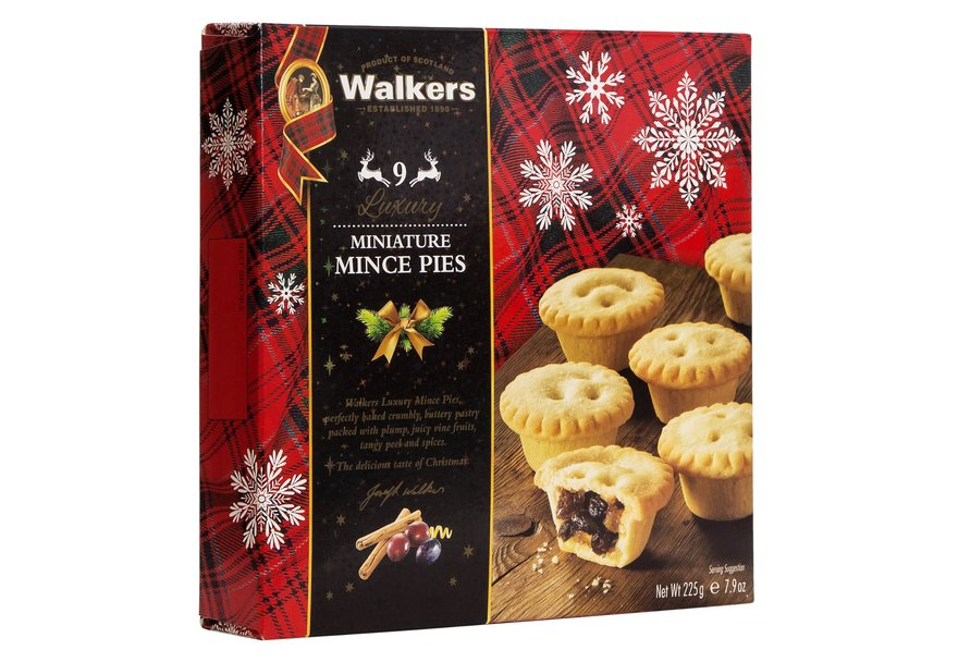 Walkers Luxury Mince Pies (225g)-0