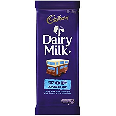 Cadbury Dairy Milk Top Deck (200g)-0