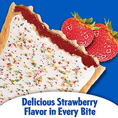 Kellogg's Pop Tarts Frosted Strawberry (104g)-9246