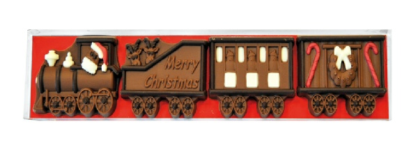 Milk Chocolate Christmas Train (170g)-0