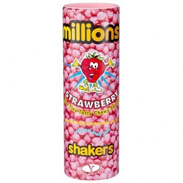 Millions Strawberry Shakers (90g)-0
