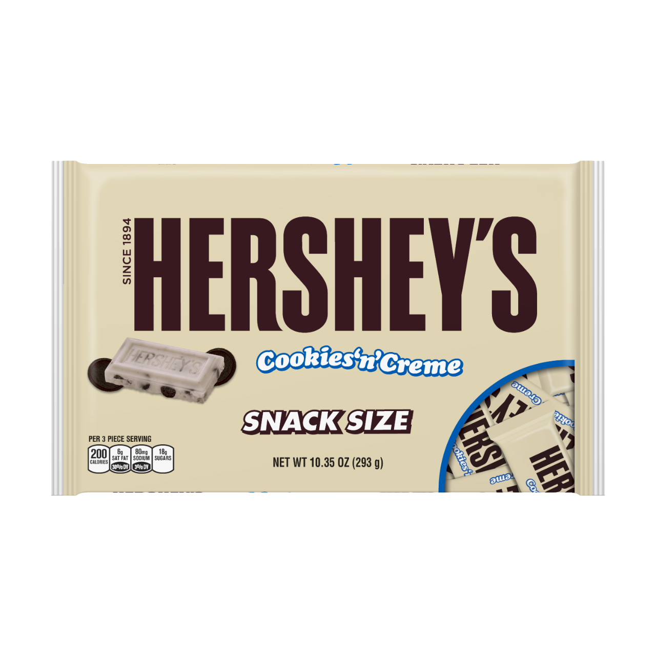 Hershey's Cookies 'N' Creme Snack Size (293g)-0