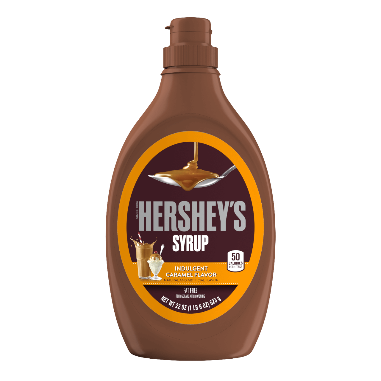 Hershey's Syrup Caramel Flavour (623g)-0