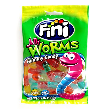 Fini Jelly Worms (80g)-0