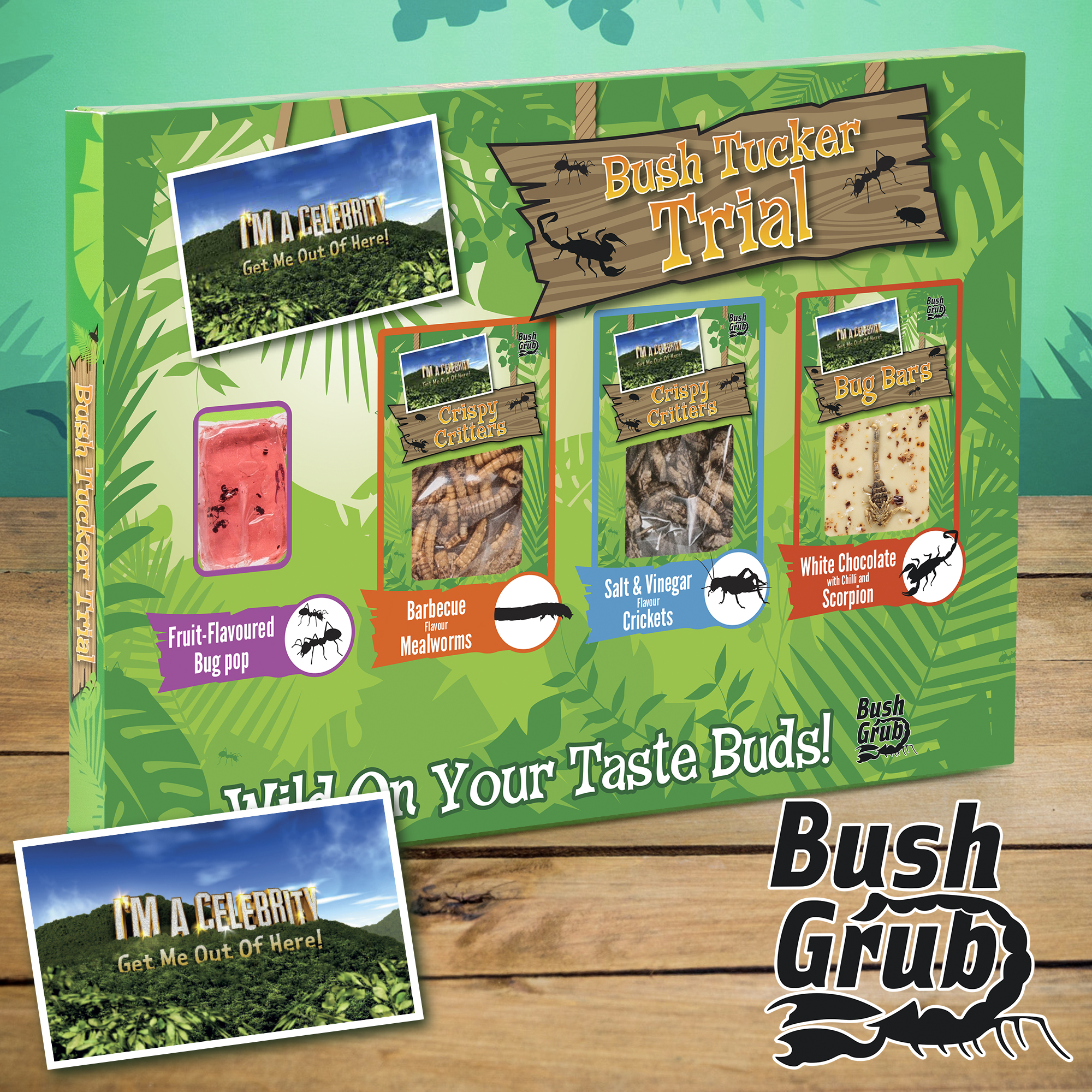 Bush Grub Bush Tucker Trial (76g)-0