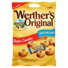 Werther's Original Butter Candies Sugar Free (80g)-0
