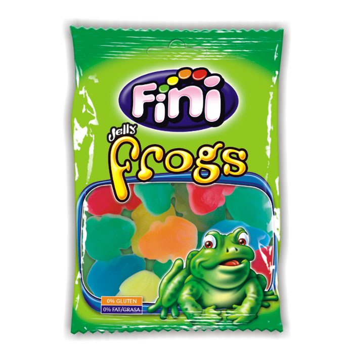 Fini Jelly Frogs (80g)-0