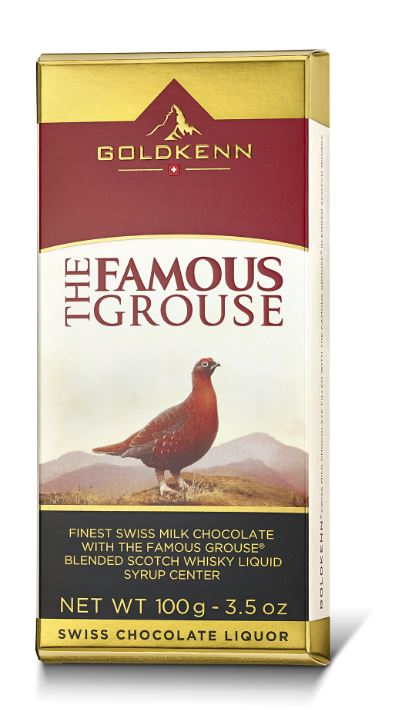 Goldkenn The Famous Grouse Swiss Milk Chocolate (100g)-0