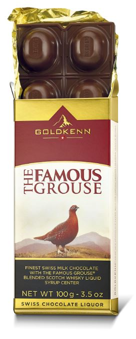 Goldkenn The Famous Grouse Swiss Milk Chocolate (100g)-9969