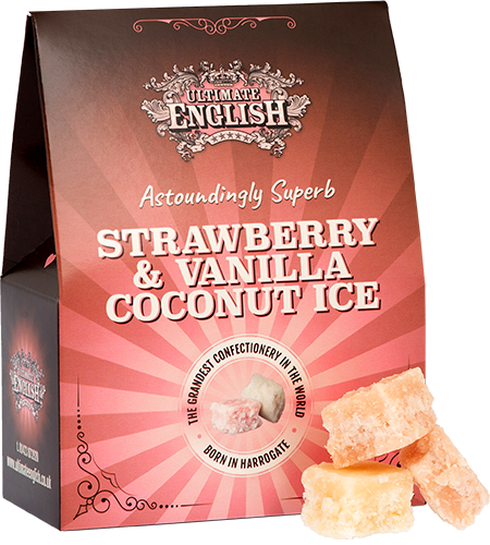 Ultimate English Strawberry & Vanilla Ice (150g)-0