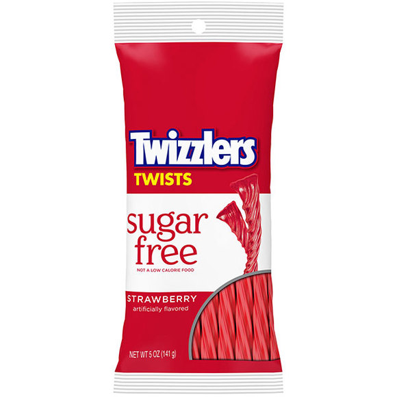 Twizzlers Twists Strawberry Sugar Free (141g)-0