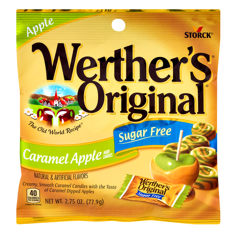Werther's Original Caramel Apple Sugar Free (77.9g)-0