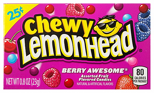 Chewy Lemondhead Berry Awesome (23g)-0