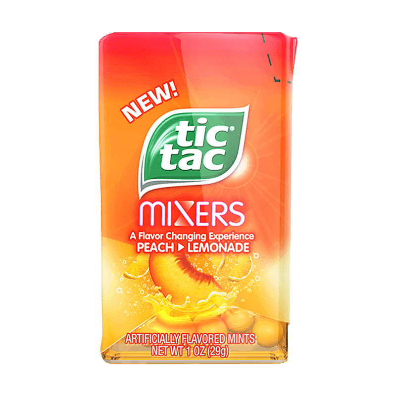 Tic Tac Mixers Peach > Lemonade (29g)-0