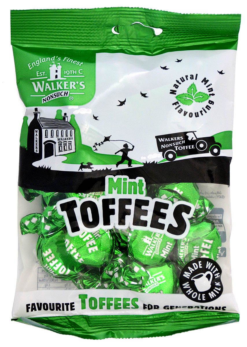 Walker's Nonsuch Mint Toffees (150g)-0