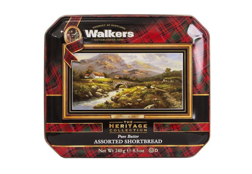 "Walkers ""Path to the Hills"" Pure Butter Assorted Shortbread (240g)-0"