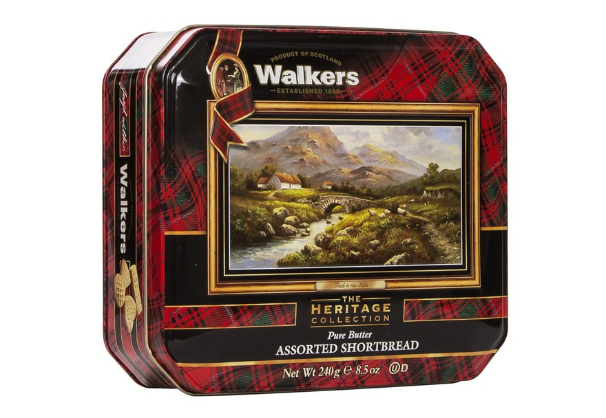 "Walkers ""Path to the Hills"" Pure Butter Assorted Shortbread (240g)-5599"