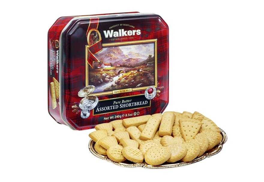 "Walkers ""Path to the Hills"" Pure Butter Assorted Shortbread (240g)-5598"
