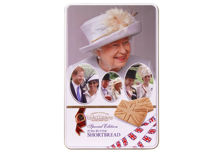 """Walkers Pure Butter Shortbread Special Edition """"Royals"""" (250g)-0"""