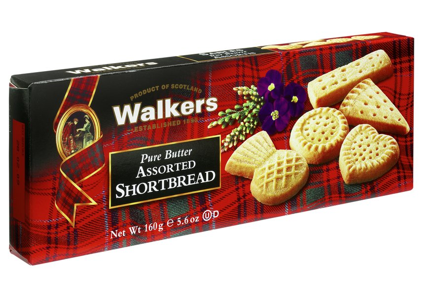 Walkers Pure Butter Assorted Shortbread (160g)-0