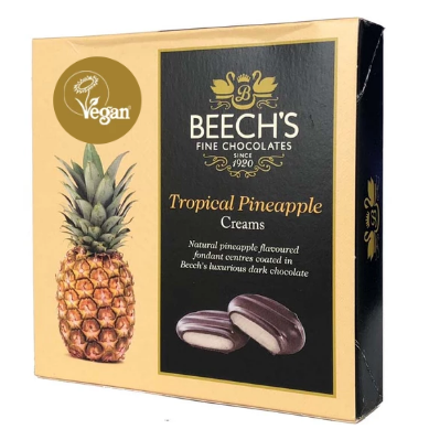 Beech's Tropical Pineapple Creams (90g)-0