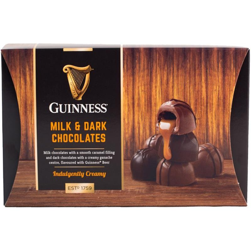 Guinness Milk & Dark Chocolates (90g)-0